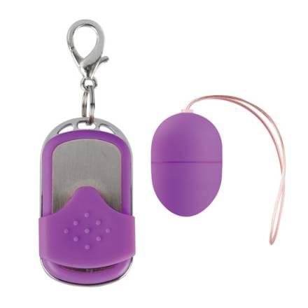 huevo vibrador 10 velocidades control remoto rosa pequeño