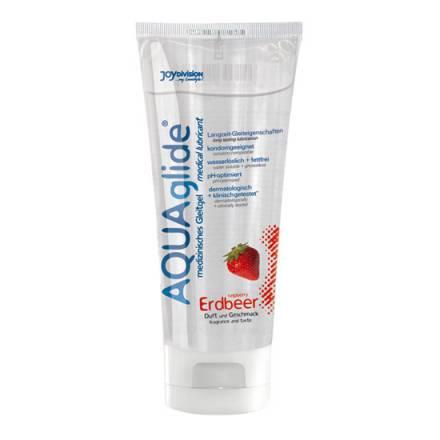 aquaglide lubricante sabor fresa 100 ml
