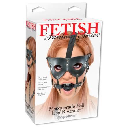 fetish fantasy mordaza con mascara