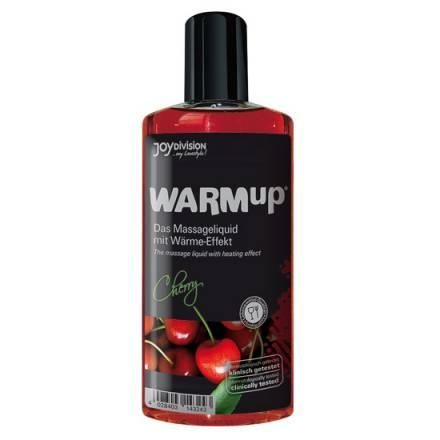 aceite de masaje efecto calor cereza