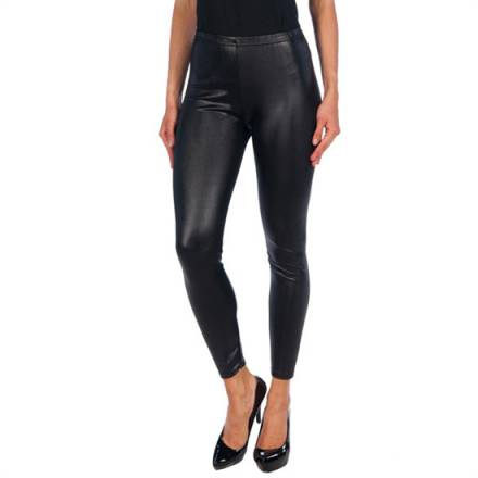 intimax black vinyl legging