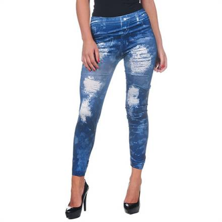 intimax legging pintado blue