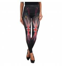 INTIMAX  PAINTED LEGGING UK BLACK
