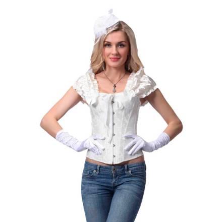 intimax angeles corset blanco