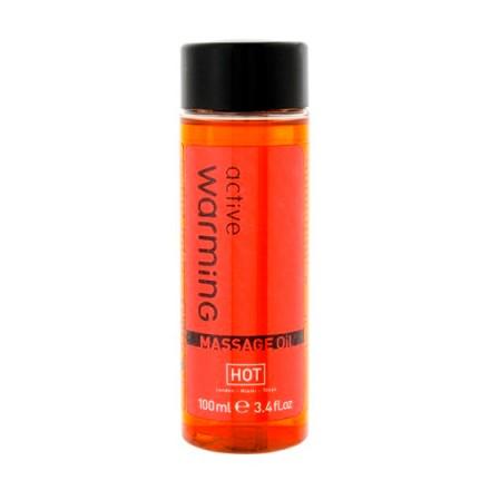 active aceite de masaje calor 100 ml