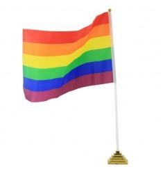 BANDERIN SOBREMESA ORGULLO LGBT