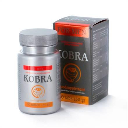 kobra para hombre 30 comprimidos