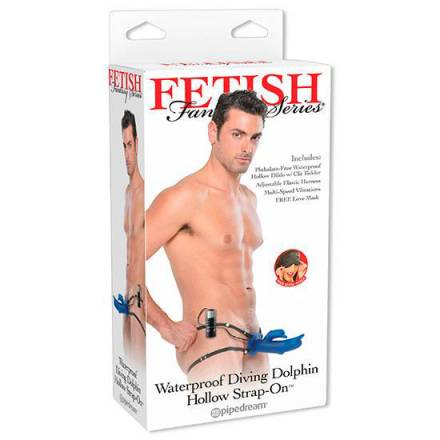 fetish fantasy arnes hueco delfin vibrador