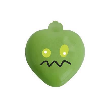 jabon con forma de corazon y bala vibradora manzana