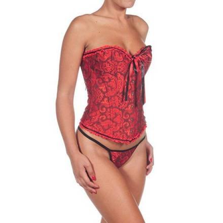 intimax corset albertina rojo