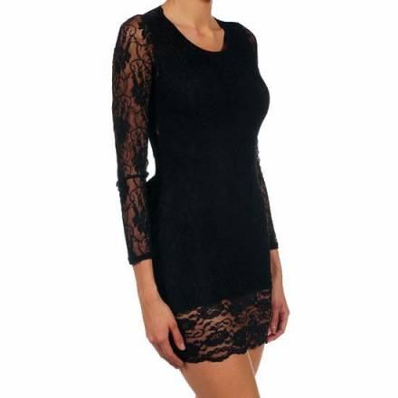 intimax vestido cris negro