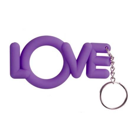 love anillo para el pene lila