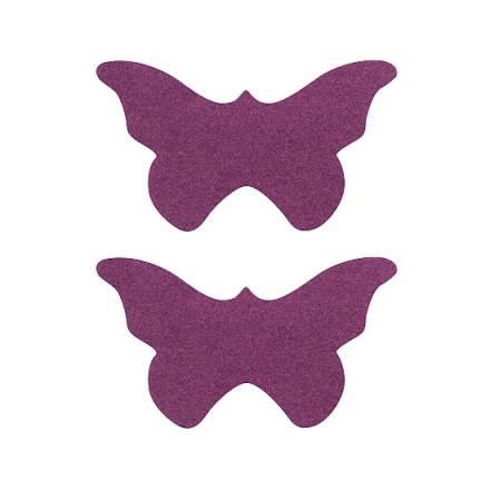 adhesivos para pezones mariposa rosa