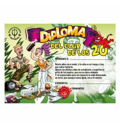 DIPLOMA 20 AÑOS