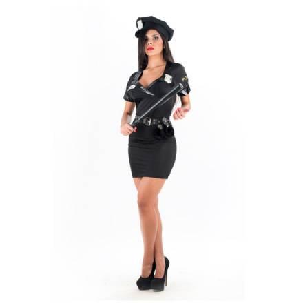 picaresque disfraz sexy policia negro