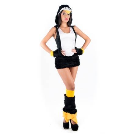 picaresque disfraz pingüino negro