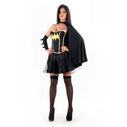 picaresque disfraz sexy batman negro