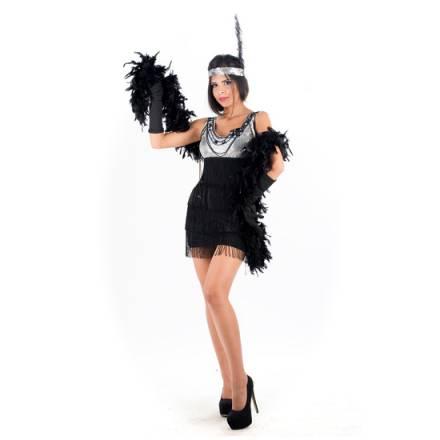 picaresque disfraz charleston negro