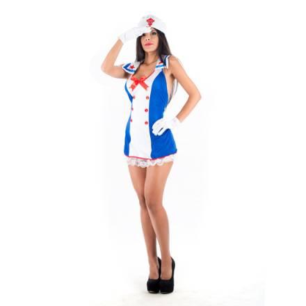 picaresque disfraz seawoman azul