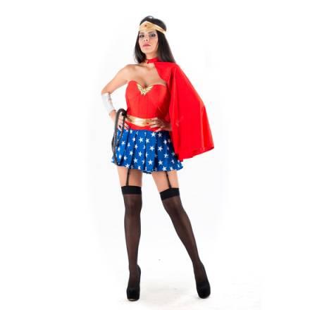 picaresque disfraz superheroe rojo