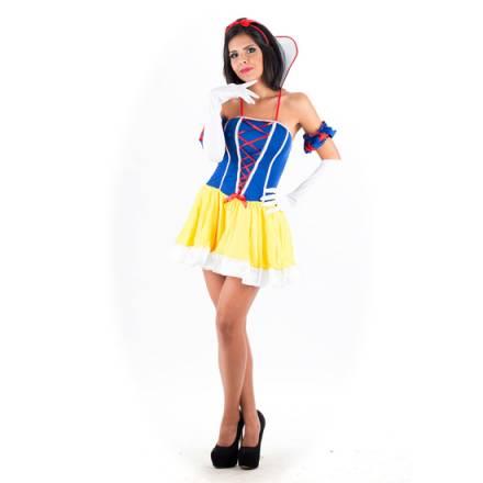 picaresque disfraz blancanieves amarillo