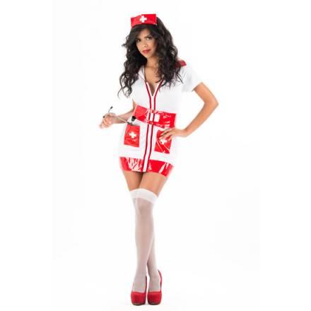 picaresque disfraz nurse kim rojo