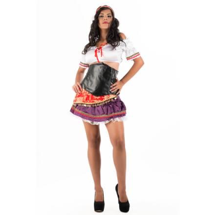 picaresque corset folklore esmeralda multicolor