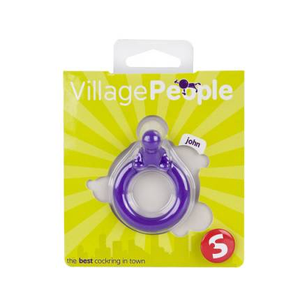 village people anillo para el pene morado