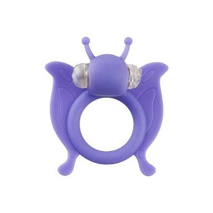 butterfly anillo pene con vibracion morado