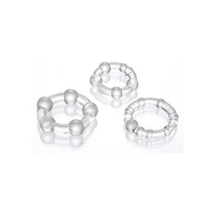 juego anillos pene transparente