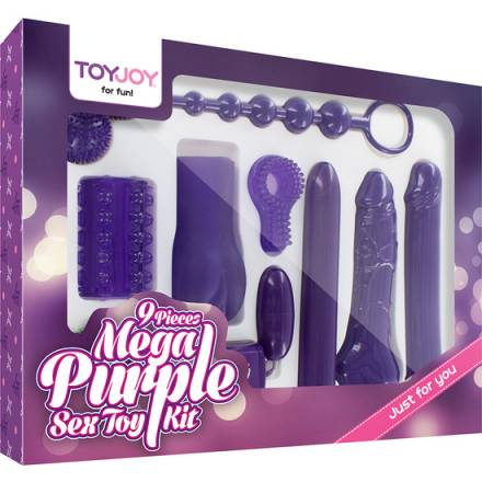 mega morado kit sex toy