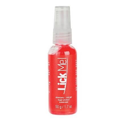 lick me gel para el sexo oral sabor fresa 50 ml