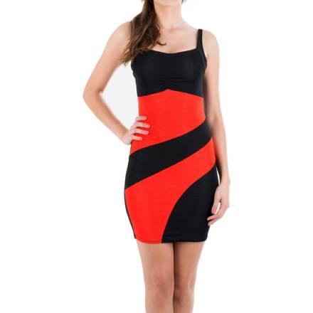 vestido génova rojo
