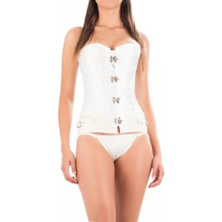 corset nieve blanco