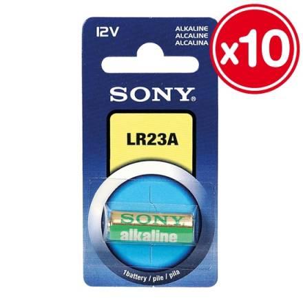 lr23a 12v sony alcalina 10 unidades