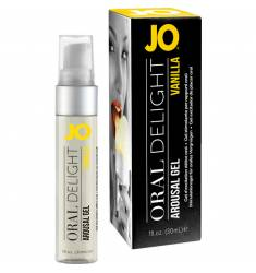 JO GEL EXCITADOR DE PLACER ORAL VAINILLA 30 ML