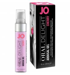 JO GEL EXCITADOR DE PLACER ORAL CEREZA 30 ML