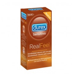DUREX SENSITIVO REAL FEEL 10 UDS