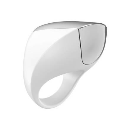 ovo a1 anillo vibrador recargable blanco