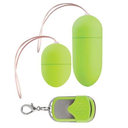 pack 2 huevos vibradores control remoto lila