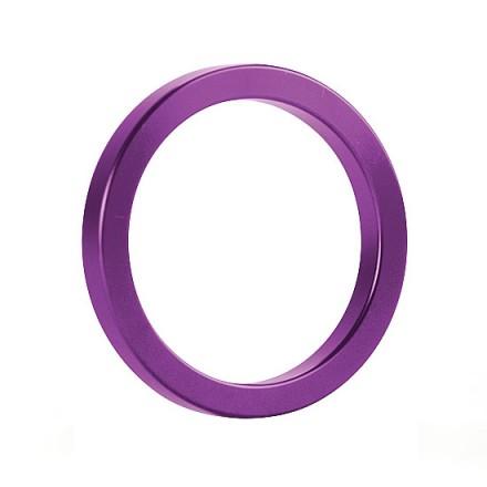 anillo para el pene de metal negro