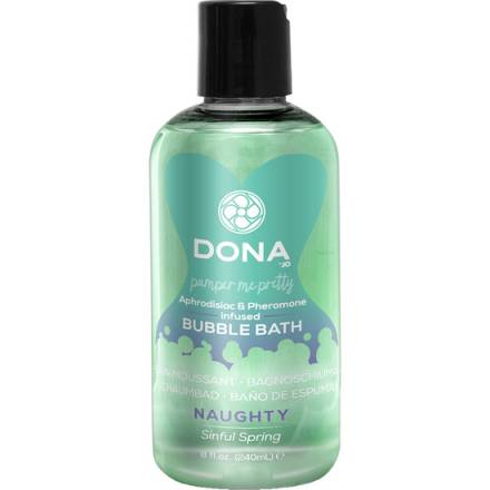 DONA BAÑO DE ESPUMA NAUGHTY 240 ML