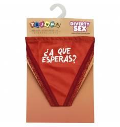 TANGA ROJO CHICA ¿A QUE ESPERAS?