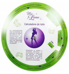 DISCO CALCULADORA DE TALLA ME LUNA