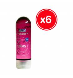 DUREX PLAY MASSAGE 200 ML (6 UDS)