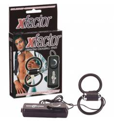 X-FACTOR DOBLE ANILLO VIBRADOR