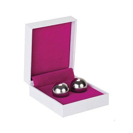 bolas chinas ben wa balls peso medio cristal