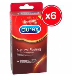 DUREX NATURAL FEELING 16 UDS (6 CAJAS)