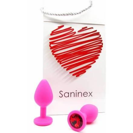 SANINEX PLUG INTENSE ORGASMIC ANAL SEX COLOR ROSA
