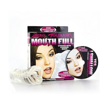 masturbador boca con perlas y dvd